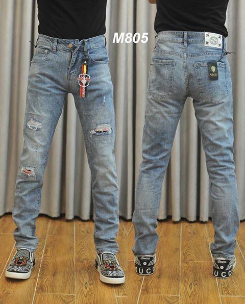 quần jean gucci M805