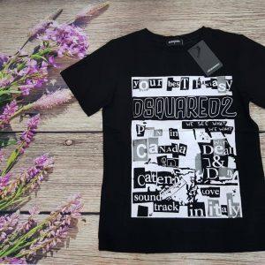 áo thun dsq2 đen