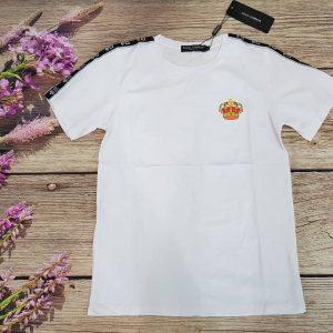 áo dolce trắng viền