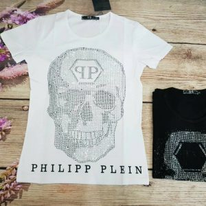 áo thun nam Phillip Plein đầu lâu