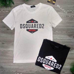 áo thun dsq2 438 trắng