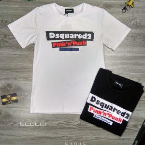 áo DSQ2 91045 trắng