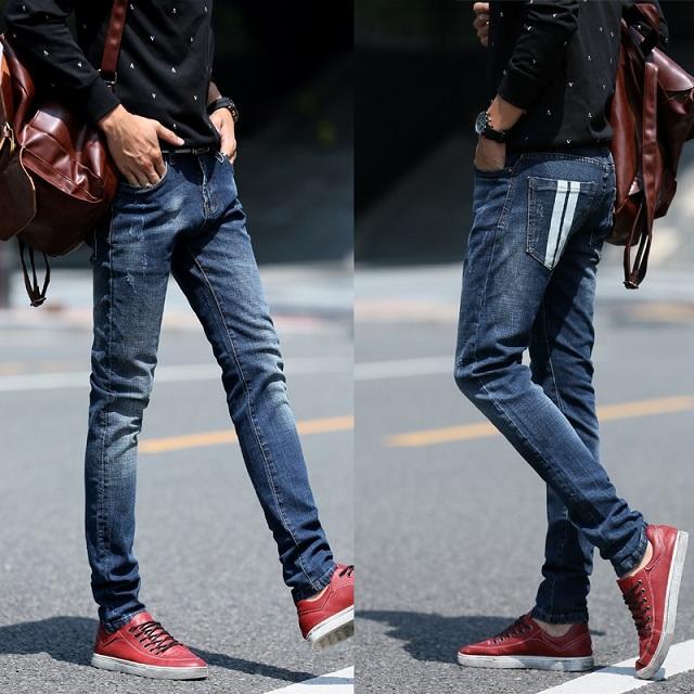 Cách chọn quần jean cho người gầy mặc đẹp quá dễ